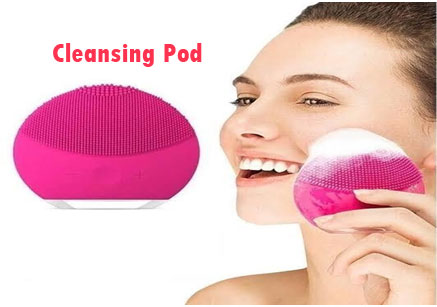Cleansing Pod - Face Massage Tool For Radiant & Glowing Skin