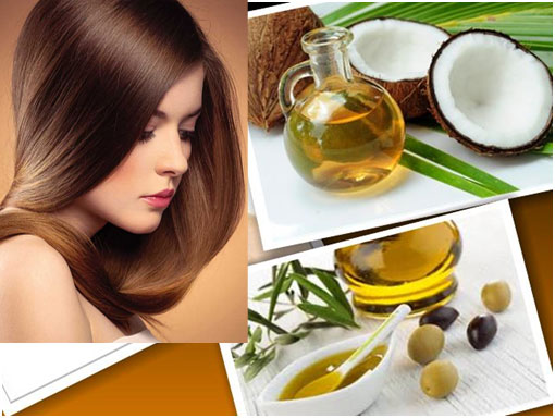 Coconut Oil & Olive Oil Natural Hair Conditioning