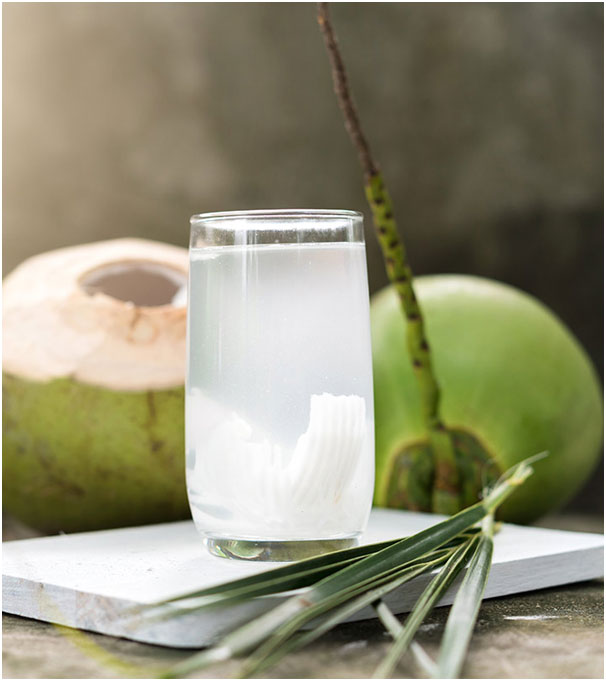 Coconut Water to Get Reduce For Hand, Foot And Mouth Disease