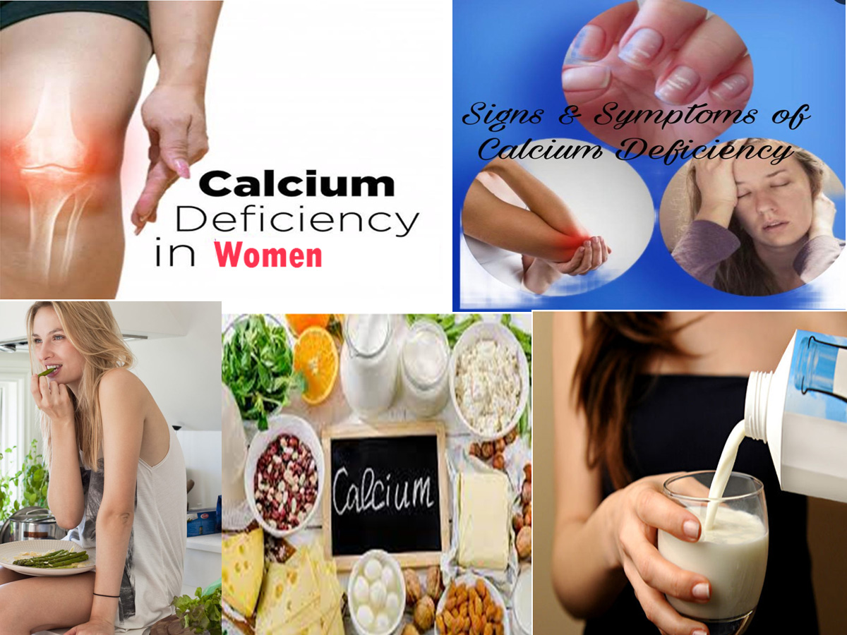 Common Signs & Symptoms Of Calcium Deficiency (Hypocalcaemia) In Women & Its Management