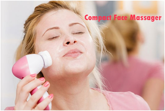 Compact Face Massager