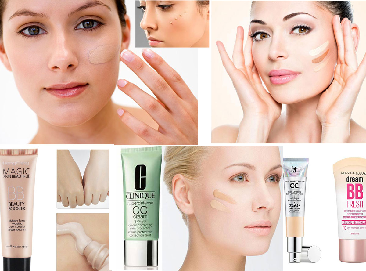 The Difference Between BB Cream And CC Cream: Which One To Choose According to Your Skin type