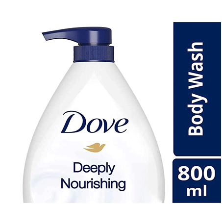 Dove Deeply Nourishing Body Wash (For Sensitive and Dry Skin)