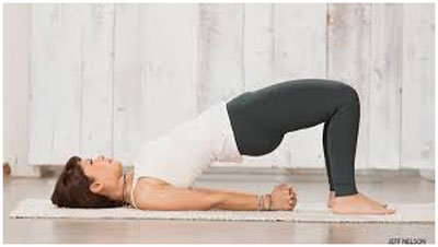 Setubandhasana (The Bridge Pose) For Hypothyroidism