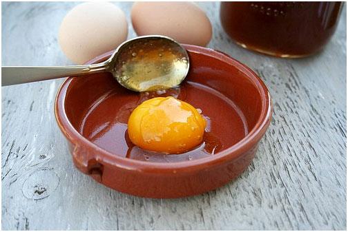 Egg and Honey Face Mask for Dry Skin