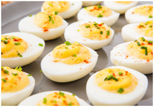 Eggs are rich in protein and power-packed with energy