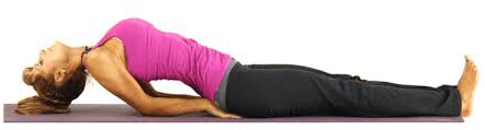 Matsyasana (The Fish Pose) For Hypothyroidism