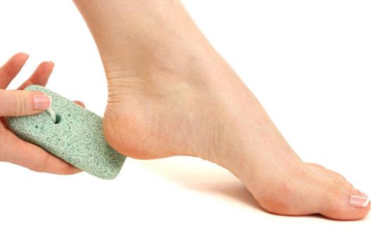 Foot Scrubbing