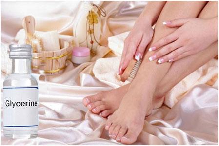 Glycerine For Moisturised Hands And Feet