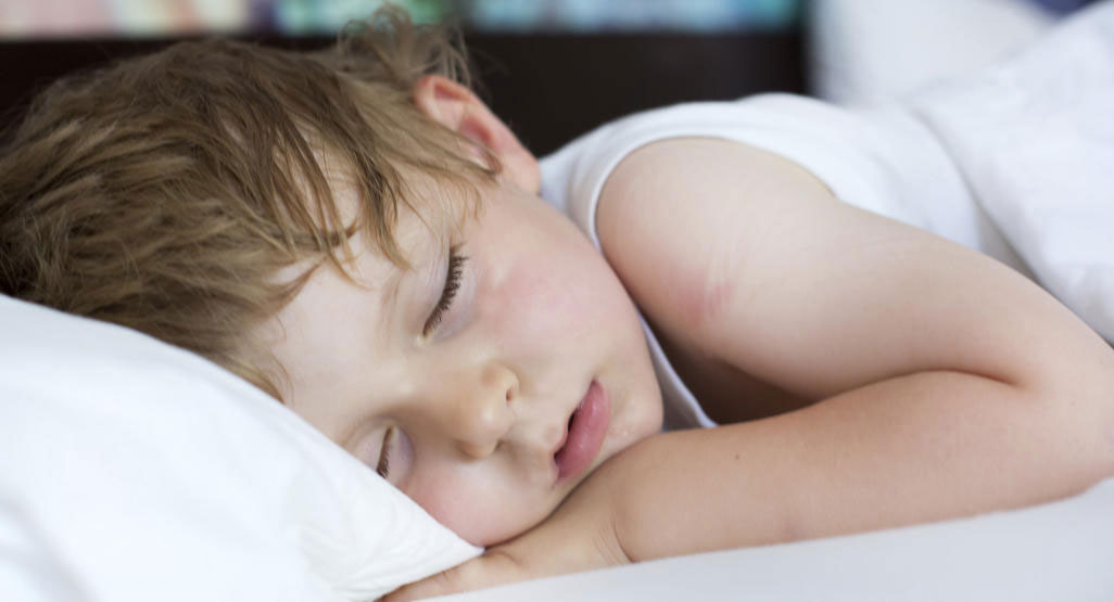 Sleeping is the best home medicine for cold and cough in kids