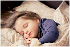 Good sleep is very essential for the growth of the bones and body