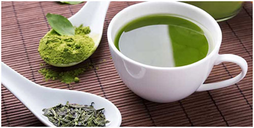 Green tea being antioxidant in nature and heals the symptoms of piles