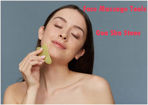 Gua Sha Stone - Face Massage Tool For Radiant & Glowing Skin