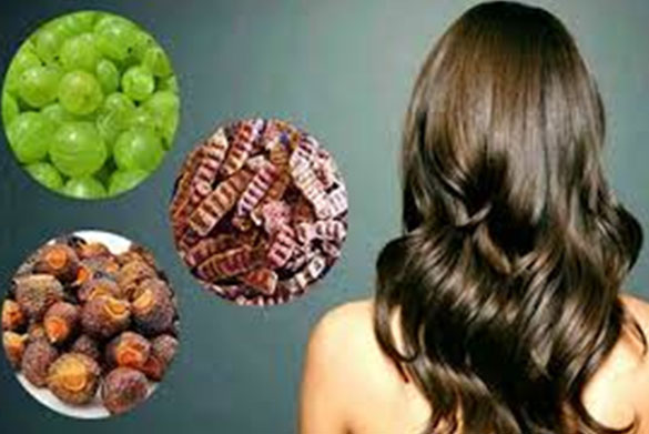 Hair Mask/Hair Pack With Reetha (Soap Nut), Amla(Goose Berry) and Sikakayi(Acacia Concinna)
