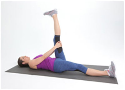 Hamstring stretch helps in strengthening the back, hip and thigh muscles