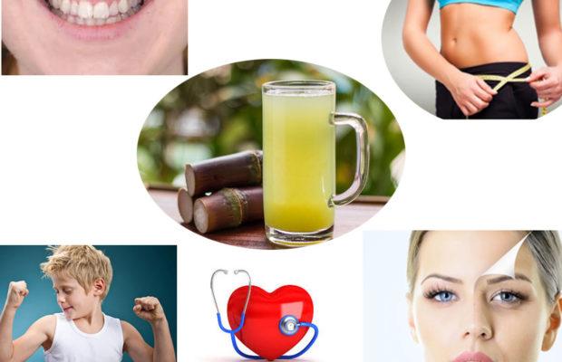 Health Benefits of Sugar Cane Juice
