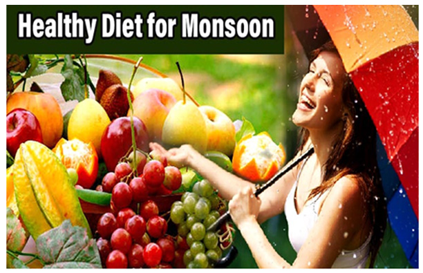 Follow Healthy Diet - healthy Diet for Monsoon