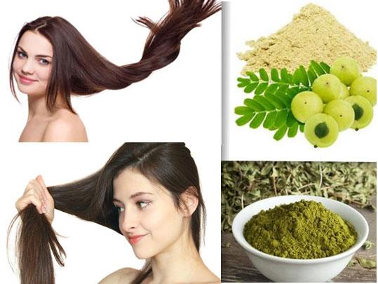 Henna Powder & Amla Powder Natural Hair Conditioner