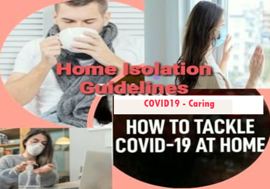 Guidelines for HOME ISOLATION for a Person With Mild Symptoms of COVID-19