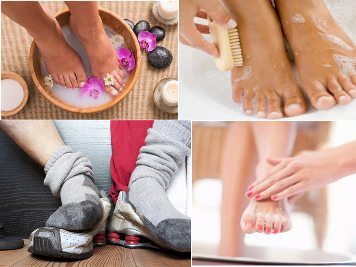 Home Remedies To Prevent Smelly Feet In Summer| Best Ways To Avoid Foot Odour