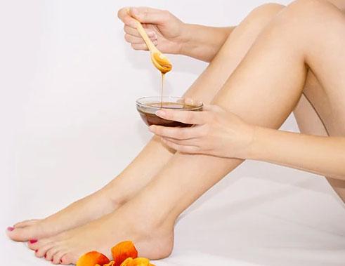 Honey To Avoid Dry Feet