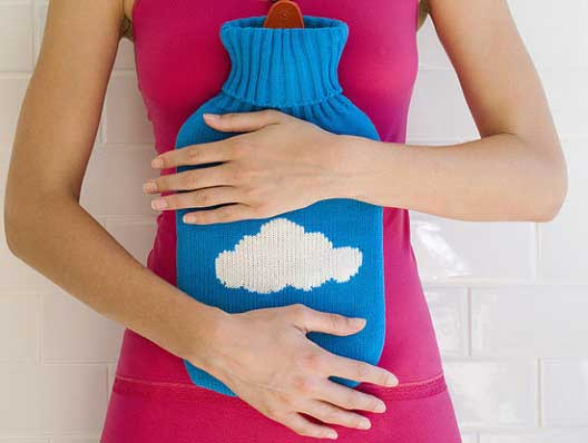 Hot water packs for adenomyosis