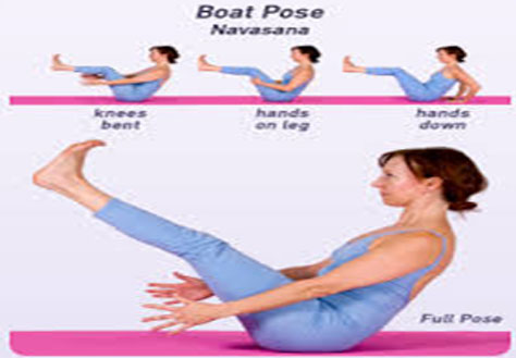 How To Do Half Boat Pose