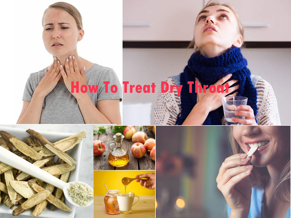 How To Treat Dry Throat