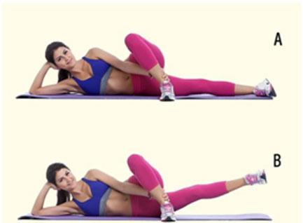 Inner Thigh Leg Lifts