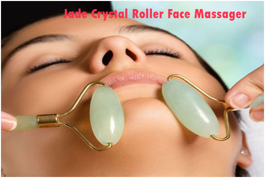 Jade Crystal Roller Face Massager