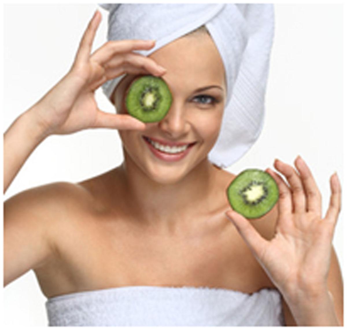 Kiwi Fruit Face Masks