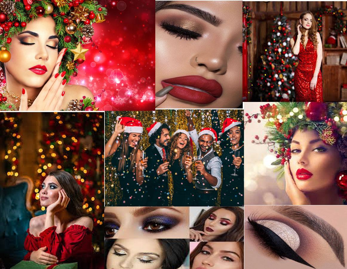 Latest Beauty Trends For Christmas Festival