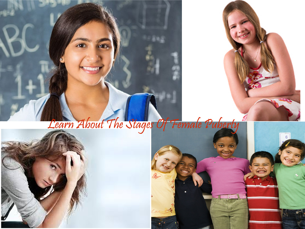 Learn About The Stages Of Female Puberty