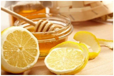 Honey and lemon helps in keeping the skin radiant and clear from blemishes