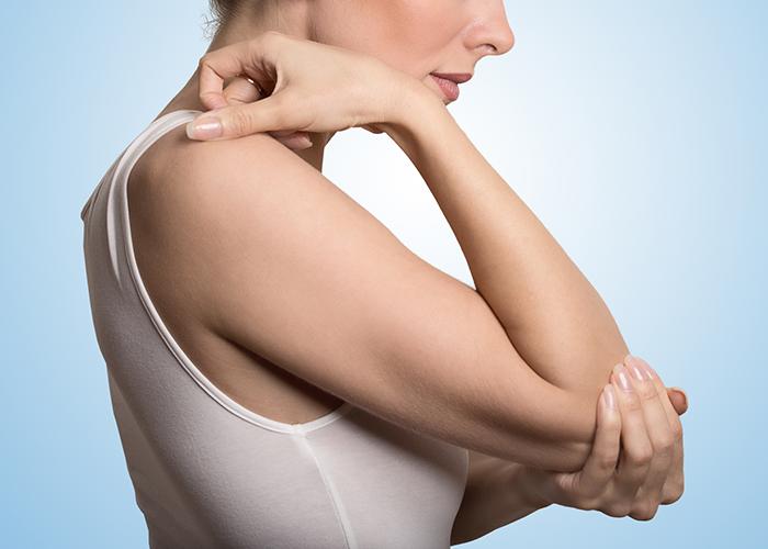 The symptoms of lupus
