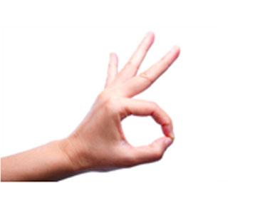 Make an 'O'