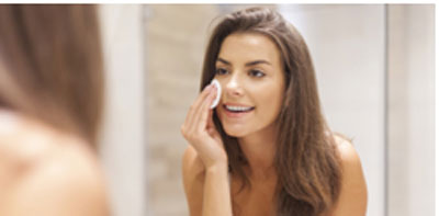 Remove make-up before going off to sleep as this is healthy for your skin care