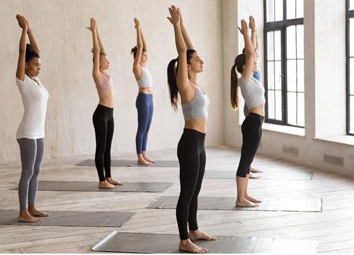 Mountain Pose (Tadasana) Yoga Pose To Burn Belly Fat Faster
