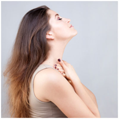 Stretching exercises helps in keeping the skin of the neck healthy and firm