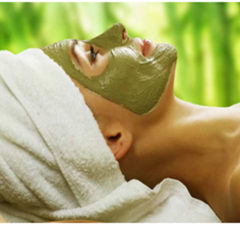 Neem and oatmeal face pack