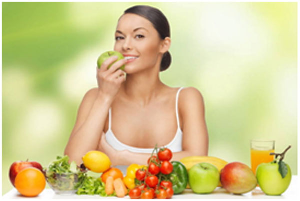 Your diet should be rich in vitamins and fiber to keep your skin supple