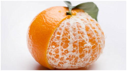 Orange is rich in vitamin C that keeps premature aging at bay