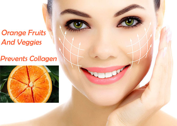 Orange Fruits And Veggies - Natural Way To Stimulate Collagen Levels In The Skin
