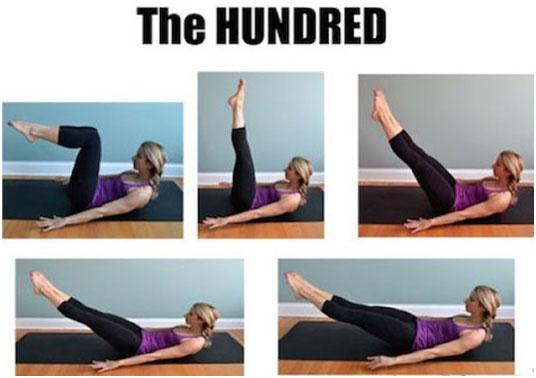 Pilates 100: Increase Blood Circulation And Enhance Metabolism