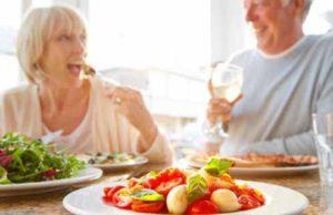 Planning a diet for an elderly