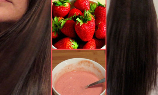Prevents Hair Fall - Amazing Health Benefit Of Strawberries