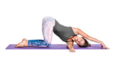 This gives a good stretch to your back and hips and makes them more flexible