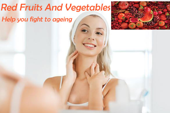 Red Fruits And Vegetables - Natural Way To Stimulate Collagen Levels In The Skin