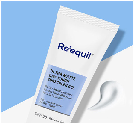 Reequil Ultra Matte Dry-Touch Sunscreen Gel Spf 50 Pa Uva (Great for all skin types kin)
