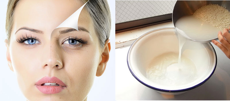 Rice Water for Anti-ageing Skincare